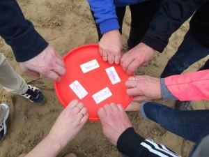 frisbee workshop teambuilding