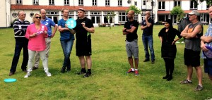 frisbee workshop teambuilding