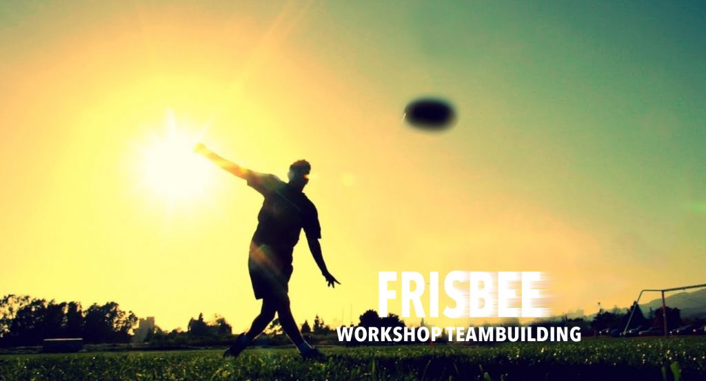 frisbee workshop teambuiding MetJet Coaching Utrecht